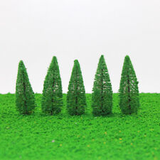 20pc 10cm Height Cypress Model Trees Railroad Park Street Diorama Scenery Layout