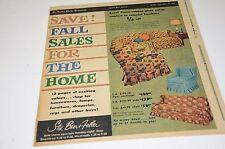 1958 St Louis Stix Baer & Fuller Sale Catalog Newspaper Insert Home Sale