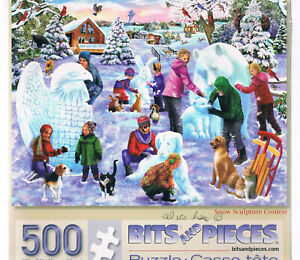 BITS AND PIECES 500 PIECE USED  PUZZLE COMPLETE NO REFUNDS ON USED PUZZLES