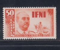 IFNI (1951) NUEVO SIN FIJASELLOS MNH ESPAÑA - EDIFIL 73 (50 cts) FRANCO - LOTE 2