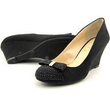 Jessica Simpson Sammi Women US 7.5 Black Wedge Heel Pre Owned 1667