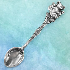 Koala Australian Souvenir Spoon Australiana Gift, Australian Made Pewter