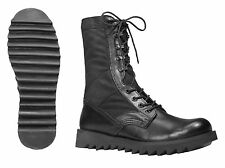 Tactical Boots 8 inch Ripple Sole Jungle MILITARY BLACK  BOOTS  SIZES 5 to 13