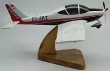P-2002 Sierra Tecnam P2002 Private Airplane Mahogany Kiln Wood Model Small New