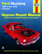 Ford Mustang V8 1964 1/2-1973 Reparaturanleitung workshop manual GT Shelby Boss