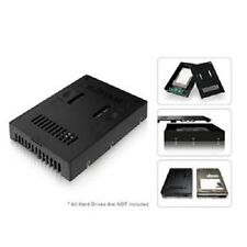 Icy Dock MB882SP-1S-2B 2.5 to 3.5 HDD SSD SATA Converter Black