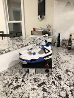 """Air Jordan Retro 4 """"Motorsport"""" Mens Size 9.5"""