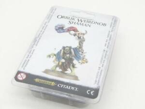 (CD02) Orruk Weirdnob Shaman Blister Age Of Sigmar Fantasy Warhammer