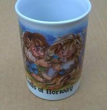 Trolls of Norway Nord Souvenir 7650 Verdal Made in Norway Coffee Cup Mug Good