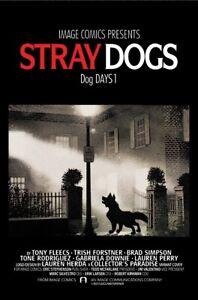 STRAY DOGS DOG DAYS #1 & 2 Signed Fleecs w/ COA Alien/Exorcist Homage *PRE-ORDER