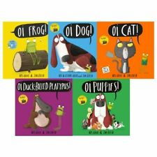 More details for oi frog 5 book collection brand new (rrp £34.95) kes gray oi frog, oi dog