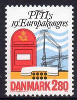 Denmark MNH 1986 19th European Congress Of the PTTI in Copenhagen