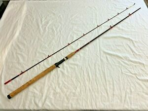 G-LOOMIS IM6 GTF-16 CAST ROD CUSTOM BY 'REEDER RODS' 9FT GRAPHITE