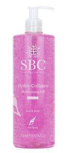 🇬🇧 SBC Hydra Collagen Moisturising Gel Face & Body Anti-Ageing 500ml Pump New