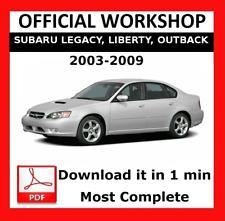 2008 subaru outback service manual pdf