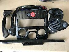 RENAULT CLIO MK-3 2009-2012 CENTRE DASH FACIA TRIM PIANO BLACK