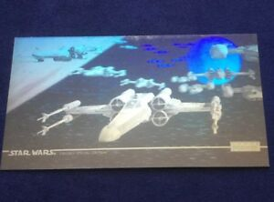 TOPPS STAR WARS Widevision Special Edition HOLOGRAM X Wings Chase Card 1 of 2