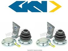 For BMW e36 e46 cv Joint Axle Boot Kit Rear Inner L+R constant velocity bellows