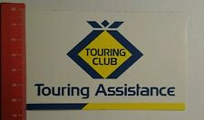Autocollant/sticker: touring club touring assistance (12071657)