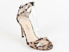 New Ballin Leopard Suede Made in Italy Sandals Size 41 US 11