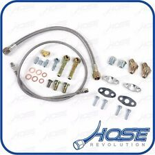 Garrett GT2871R GT3071R GT2835 GT3037 Turbo Oil Water Line Install Kit