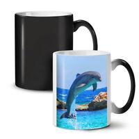 Dolphin Ocean Wild NEW Colour Changing Tea Coffee Mug 11 oz | Wellcoda