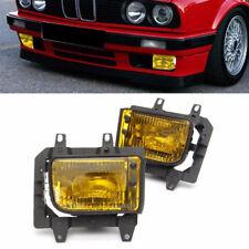 63171385945 63171385946 Amber Lens Fog Light Cover Housing for BMW E30 85-93 CAO
