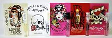 5 PCS ED HARDY LOVE & LUCK SKULLS AND ROSES BORN WILD VILLAIN LOVE KILLS SLOWLY