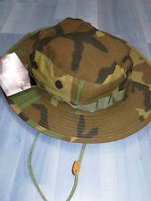 Cappello hat berretto caccia mimetico cotone con prese d aria tg 7 1/2 (m)