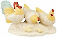 Lenox First Blessing Nativity Chickens and Rooster Figurine Christmas NEW IN BOX
