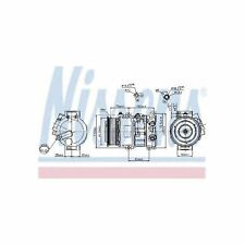Genuine Nissens A/C Air Con Compressor - 89516
