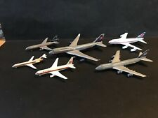 Airplanes United Airlines Air Canada 6 Toy Diecast metal vintage lot Oop rare