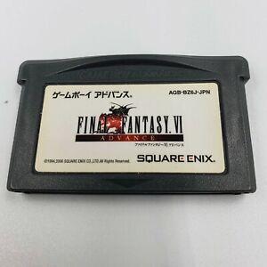 FINAL FANTASY 6 VI FF6 Gameboy Advance GBA Japan Import US Seller