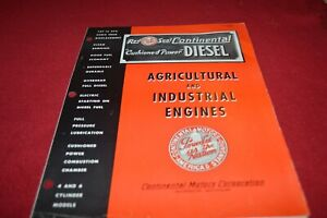 Continental Red Seal Engines Agricultural & Industrial Dealers Brochure AMIL15