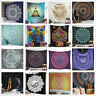 India Mandala Tapestry Bedspread Hippie Wall Hanging Queen Twin Throw Decor