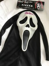 Ghostface Scream 4 Mask AUTOGRAPHED BY WES CRAVEN during The Filming In Detroit