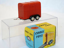 CORGI 102 RICES PONY TRAILER
