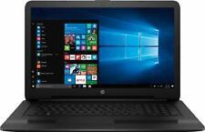 New HP 17.3 inch i7-7500U 2.70 GHz 8GB DDR4 1TB HDD DVDRW Webcam HDMI Windows 10