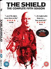 DVD:THE SHIELD - SEASON 5 - NEW Region 2 UK