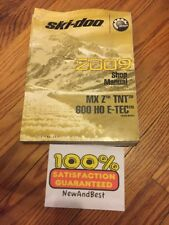 2009 Ski-Doo Shop Manual Mx Z Tnt 600 Ho E-Tec 219 100 303