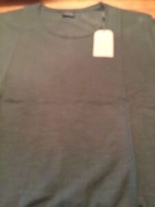 Jack and Jones long fit t shirt with U neckline S & M only
