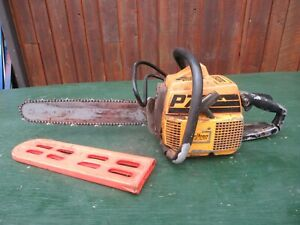 """Vintage PARTNER P70 Chainsaw Chain Saw with 15"""" Bar"""