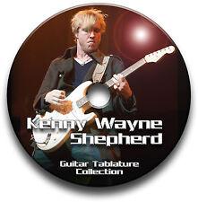 Kenny Wayne Shepherd Blues Rock Guitar Tab Tablature Song Book CD