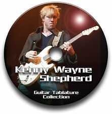 KENNY WAYNE SHEPHERD BLUES ROCK GUITAR TABS TABLATURE SONG BOOK SOFTWARE CD
