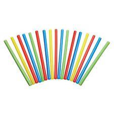 Kitchen Craft Pack of 50 Plastic Smoothie / Milkshake Straws