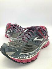Brooks Women's Glycerin 10 Running Shoes Sneakers Gray Pink Sz 9 B 1201121B761