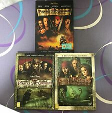 Original DVD - Pirates of the Caribbean (3 movies)