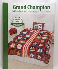 New Herrschners Crochet Afghan 2015 Grand Champion Pattern Book Do Not Open