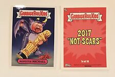 Monster Michael Shannon - 2017 Garbage Pail Kids Not-Scars #7a Oscars