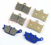 Front & Rear Brake Pads For YAMAHA YZF R6 2003-2009 2004 2005 2006 2007 2008 09